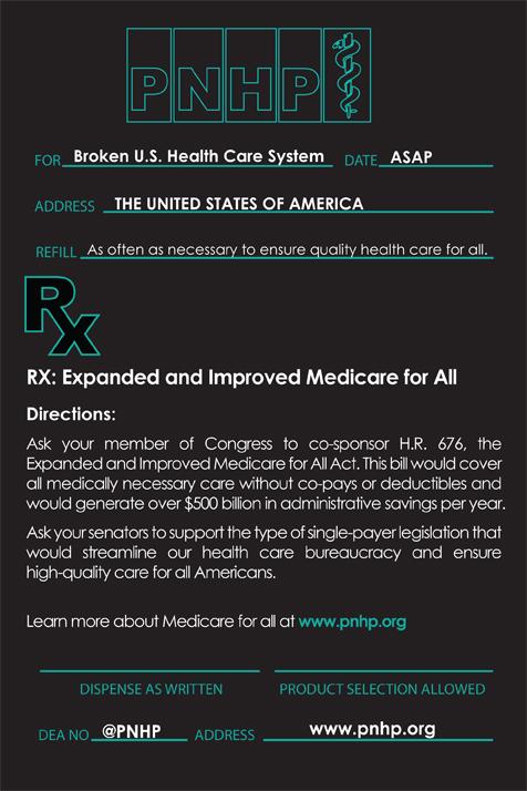 Medicare For All Prescription