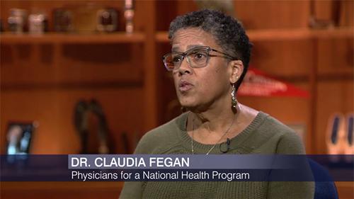 """Dr. Claudia Fegan on """"Chicago Tonight"""""""
