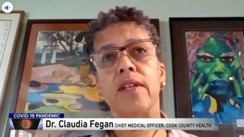 Drs. Claudia Fegan and Susan Rogers on WGN News
